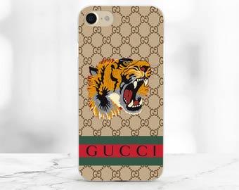 Gucci iPhone 8 case Gucci Tiger iPhone 8 Plus Case Gucci iPhone 7 Plus Case Gucci pattern iPhone x Case Samsung S8 Case Gucci Logo iPhone x