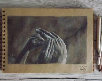 Hand Drawing from the movie 'Biutiful'