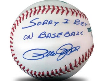 Pete Rose - Sorry Ball