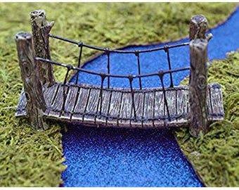 Micro mini suspension bridge