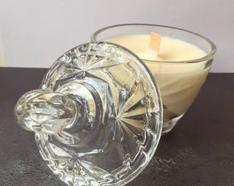 Vintage Glass Candle - Oudh  Fragrance