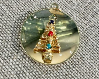 14KT Yellow Gold Christmas Tree Charm