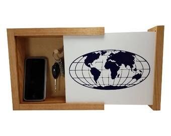 Globe Concealment Shelf