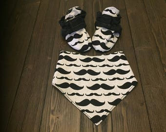 Bibs & Boots. Trendy baby Bibs with matching Booties to keep your little one cozy and cute!