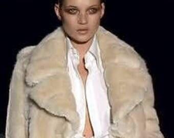 Fabulous Faux Fur Gucci Coat