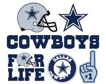Dallas Cowboys Nfl  SVG PNG DXF File football svg files, cricut, silhouette cut file  Vector Cut File