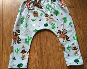 Cowboy leggings 9-12 months