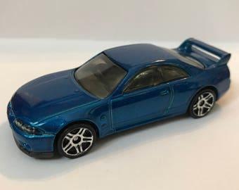 Fridge Magnet:Blue Nissan Skyline GT-R R33 Hot Wheels®