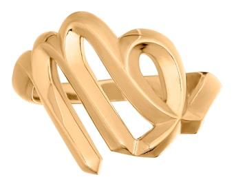 Virgo Zodiac Ring