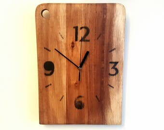 Up-cycled Rustic Wooden Wall Clock