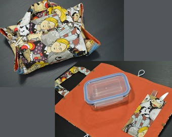 2 in 1 Lunch bag and placemat
