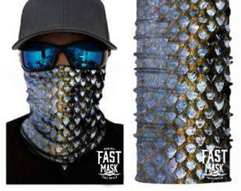 Shimmering Scales  Face Shield- Free Shipping to Canada & USA - 100% Microfibre | Face Mask | Biker Face Shield | Bandana | Tubular Bandana
