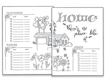 Home - Bullet Journal Printable Pages