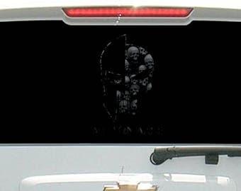 Molon Labe Tactical Skull Helmet Dark Edition