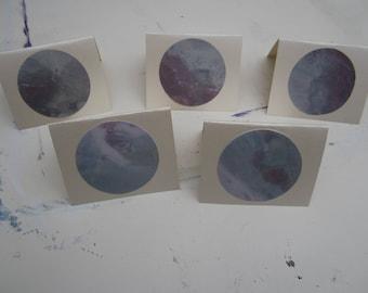 5 Pack of Handmade Greetings Cards #2