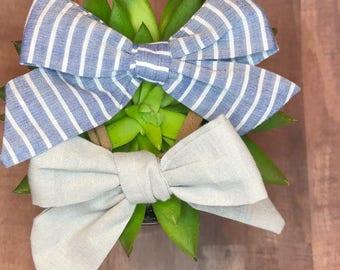 School girl bow, baby bows, baby headbands, baby girl headbands, bow set, headband set, baby accesoriea, nylon headbands