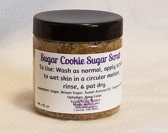 Sugar Cookie Sugar Scrub