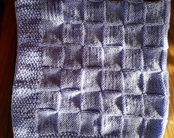 Hand Knitted Baby's Blanket