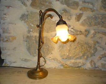 Tulip shaped floor lamp