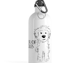 Mother Of Doodles Stainless Steel Water Bottle - GoldenDoodle / Labradoodle / SheepaDoodle
