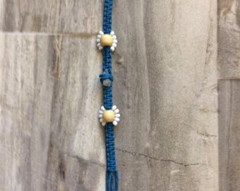 Hemp Crystal Bracelet/Anklet
