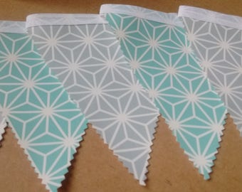 Pvc patterned Bunting