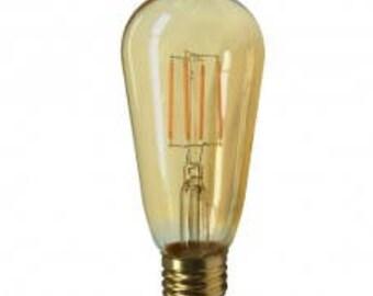 Antique LED filament ST19 Bulb 6W 2200K