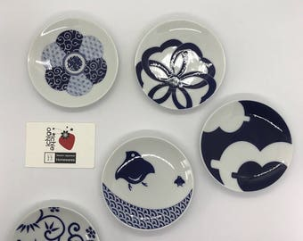 Kihara Small Serving Plates - Arita Porcelain
