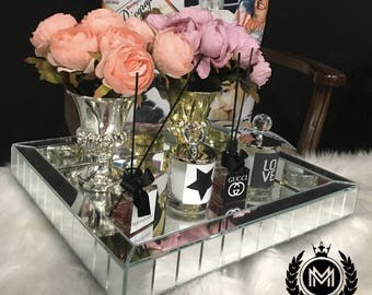 Luxurious Designer Mirror Tray