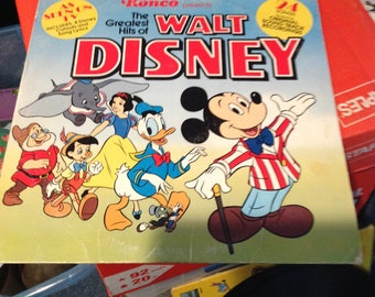 The greatest hits of Walt Disney