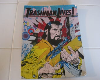 Trashing Lives Collected Stories 1968-1985 By Spain Fantagraphics Books 1989