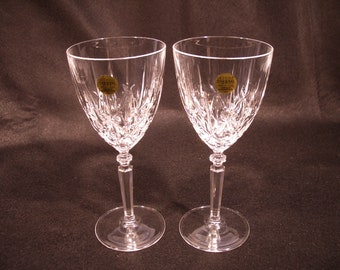 Capri Piombo Cristoballo Wine Glasses - 24% Leaded Italian Crystal
