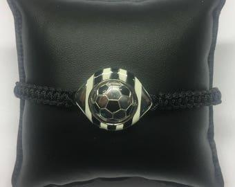 J Football Bracelet