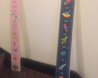 Children's Growth Chart (available as blue or pink)