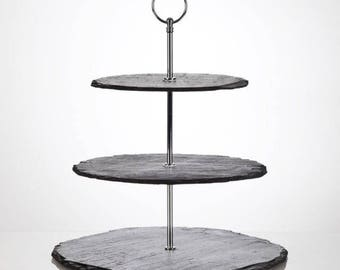 Slate Afternoon Tea Stands