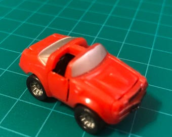 Vintage Red Pontiac Trans Am Micro Machine Deluxe circa 1980's