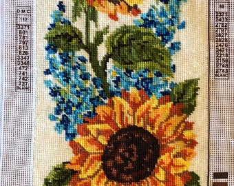 Needlepoint Tapestry - Sunflowers