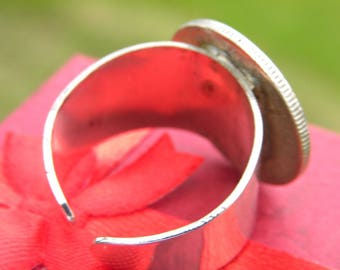 Silver Expanding Ring