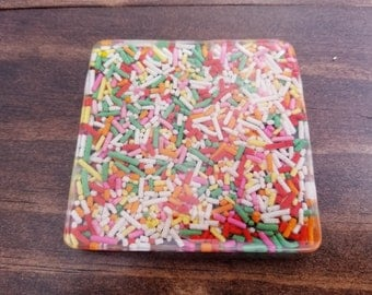 Candy Resin Coasters (Multiple Options)