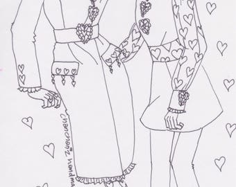 Coloring picture 1