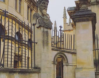 Photograph of Oxford University buildings