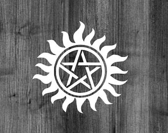 Supernatural Anti - Possession Decal