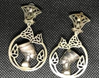 Sterling Silver 925 Marked Clip On Earrings