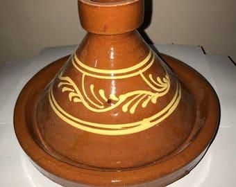Tajine Tagine Terracotta pot Moroccan dish handcrafted ø21cm S 1525