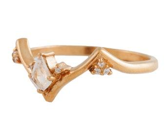 Minka Ring with Moonstone