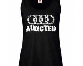 AUDICTED Ladies Vest T-shirt