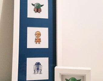 Star Wars ** box frame / shadow box frame / personalised gift