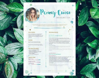 Savage Resume Template BellaBlue