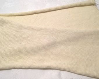 Undyed, Single Knit Strand, Sock Blanks, 80/20, Merino/Nylon, Fingering Weight, Undyed Yarn, 420 Yards