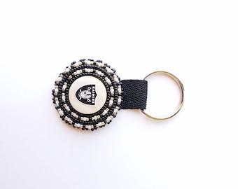 Beaded Raiders Key Chain